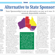 Alternative to State Sponsorship